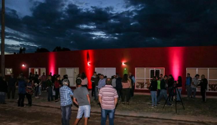 Tiro Federal de Villa Belgrano inauguró su anhelado SUM y recibió 250 mil pesos