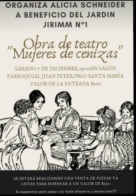 """Obra de teatro: """"Mujeres de cenizas"""""""