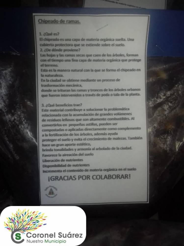 El Reciclado en Coronel Suárez continúa avanzando y ayudando a las instituciones