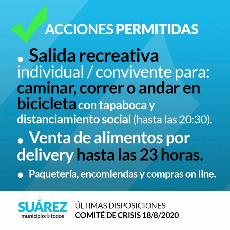 Restricciones por brote COVID-19 Coronel Suárez