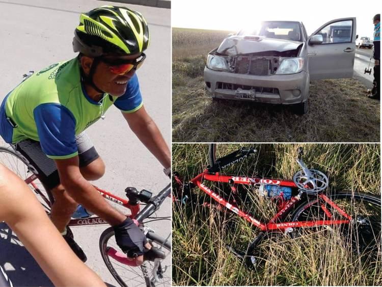 Muere atropellado un ciclista en ruta 85
