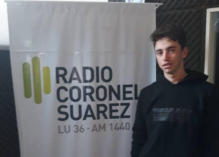 Damián Alonso, el joven ciclista que es el orgullo de la ciudad