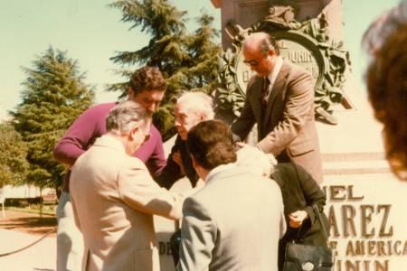 Micro Histórico: Jorge Luis Borges visitó la ciudad en tres oportunidades