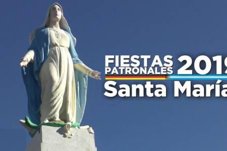 Comenzaron las celebraciones de kerb y los acontecimientos patronales en Pueblo Santa María