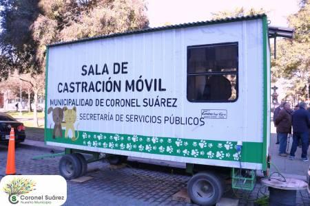 El intendente Palacio presentó la Sala de Castración Móvil