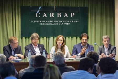 Vidal participó de la 6ta edición de agrojornadas políticas de CARBAP