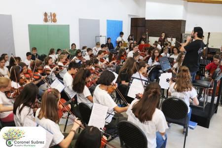 """Intendente Palacio: """"Acá hay mucho amor, enseñanza y educación para el futuro y eso lo tenemos que valorar"""""""