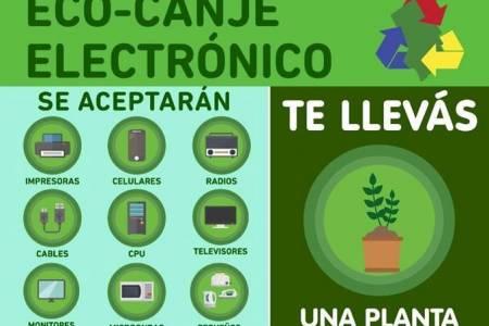 Eco-canje eléctrico en Coronel Suárez