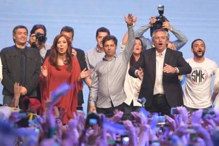 Kicillof, gobernador electo de la provincia de Buenos Aires: obtiene el 52 por ciento de los votos