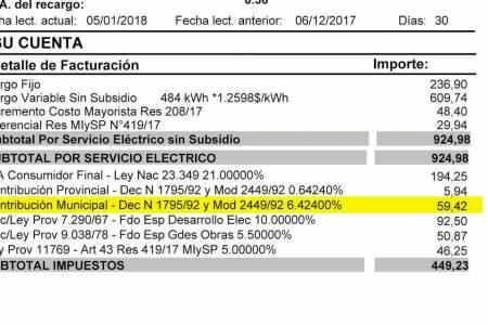 Las distribuidoras eléctricas ya no podrán cobrar tasas ni adicionales en las facturas