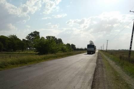 El municipio repavimentó el acceso entre la ruta 85 y Pueblo San José