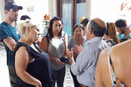 Viviendas Techo Digno: Ricardo Moccero llevó tranquilidad a los vecinos