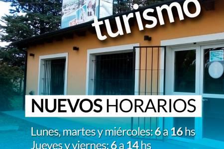 Se amplía el horario de atención de la oficina de Turismo