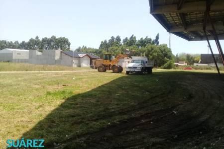 Limpieza integral de terrenos y espacios públicos