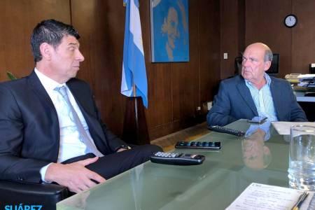 Moccero se reunió con funcionarios del Ministerio de Salud de Nación