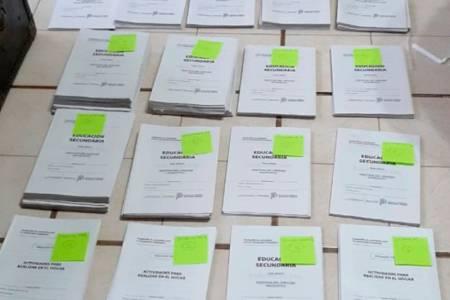 Educación: Las escuelas del distrito recibieron los cuadernillos de continuidad pedagógica