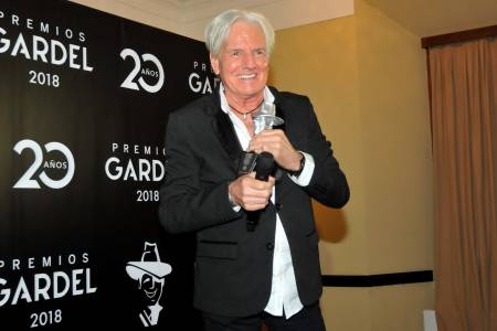 Sergio Denis fue distinguido en los Premios Gardel 2018