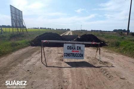 Cierre de accesos para controlar la libre circulación por caminos rurales