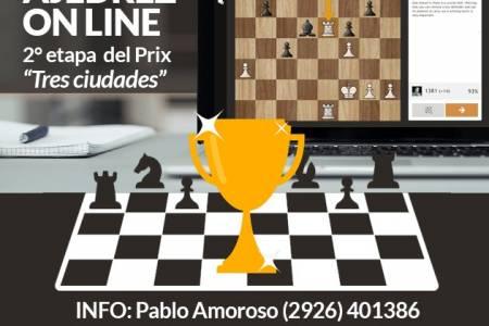 """Ajedrez: se jugará online la etapa del Prix """"Tres ciudades"""""""