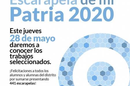 """Gran participación al concurso """"Escarapela de mi Patria 2020"""""""