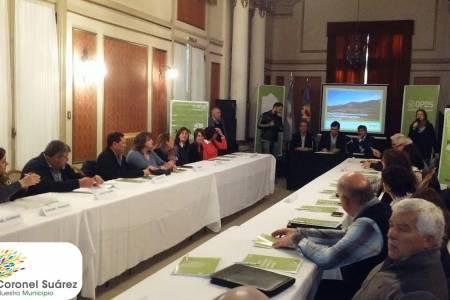 Juan Pablo Miracca participó de la Mesa Ambiental del OPDS que se realizó en Bahía Blanca