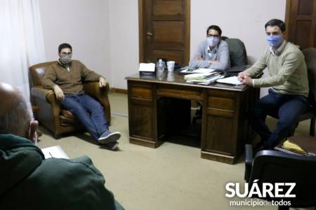 El Ejecutivo recibió al Sindicato de Trabajadores Municipales