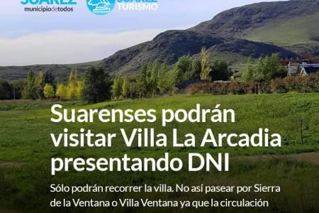 Suarenses podrán visitar Villa La Arcadia presentando DNI