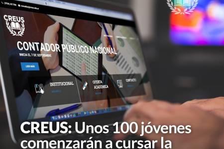 CREUS: Unos 100 jóvenes comenzarán a cursar la carrera de Contador Público