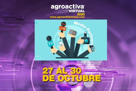 Los Media Partners apuntalan AgroActiva virtual en su previa