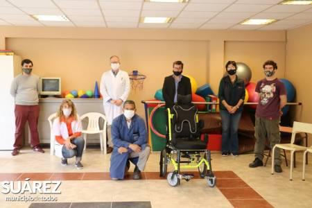 Se fabricó en los talleres del Hospital Municipal la primer silla de ruedas personalizada
