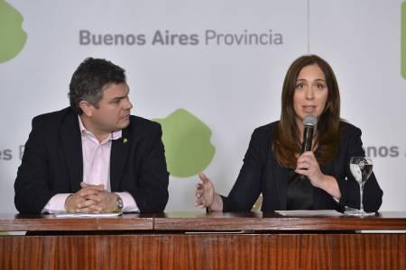 Vidal anunció un paquete de medidas sociales para asistir a un millón de bonaerenses