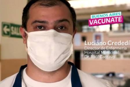 """""""Tendremos el privilegio de ser los primeros en la provincia en dar inicio a la campaña de vacunación como estaba estipulado"""""""