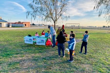La Junta Vecinal Aldea Procrear de San José presentó un importante proyecto para embellecer la plaza