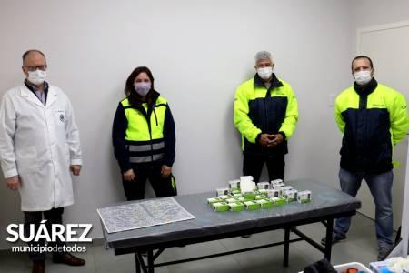 La empresa Smurfit Kappa donó 50 oxímetros al Hospital Municipal