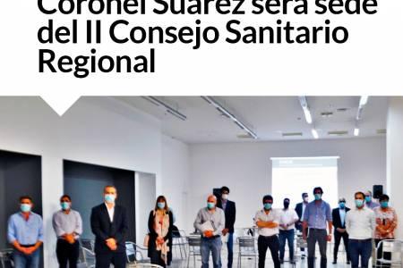 Coronel Suárez será sede del II Consejo Sanitario Regional