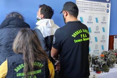 Drogas ilícitas delegación Bahía Blanca