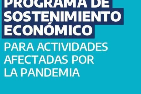 Provincia y Municipio en marcha: Programa de Sostenimiento Económico para actividades afectadas por la pandemia