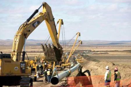 El gasoducto que atravesará La Pampa llega a Salliqueló