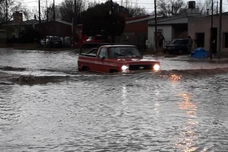 Registro de las precipitaciones en la ciudad y la zona