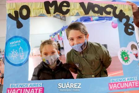Comenzó la vacunación de niños de entre 3 y 11 años