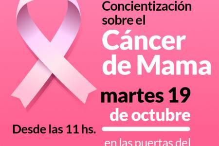 Mes de concientización sobre el cáncer de mama
