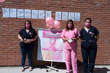 Campaña de concientización sobre el cáncer de mama