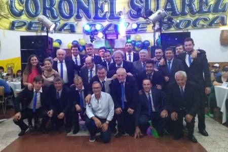 Gran festejo xeneizes por los 49 años de la Peña Carlos 'Cala' Casitti