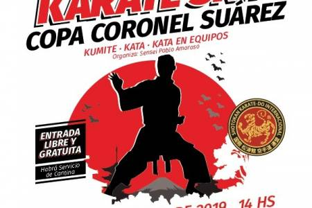 Se viene la Copa Coronel Suárez en Karate