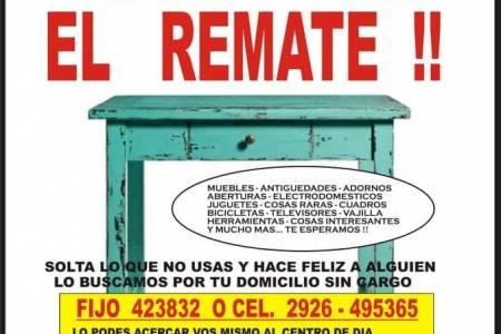 Remate Solidario a Beneficio del Centro de Día y Hogar Esperanza de Coronel Suárez