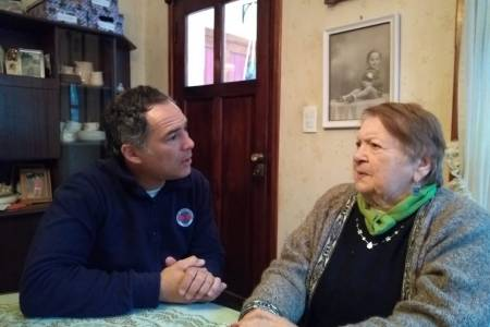 Pedro Rodríguez escuchó los reclamos de los vecinos de Villa Arcadia