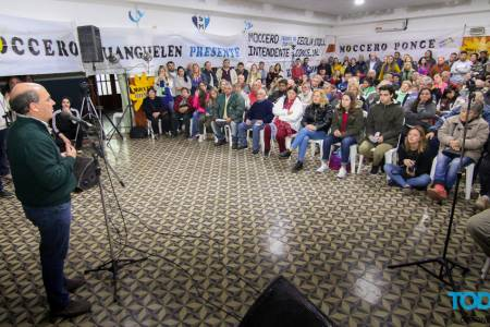 En Huanguelén, Moccero se lamentó por la falta de sensibilidad del actual Gobierno