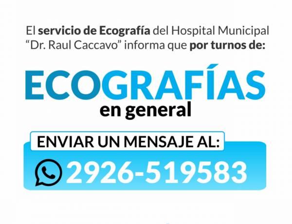 Servicio de ecografías del Hospital Municipal