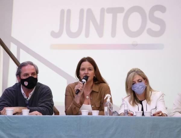 """Lourdes Fernández: """"Este domingo le decimos basta a los que quieren imponer una agenda de impunidad, porque somos honestos, distintos, tenemos valores"""""""