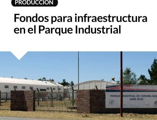 Fondos para infraestructura en el Parque Industrial